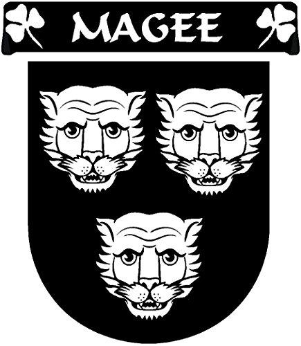 Magee Irish Coat of Arms Sgian Dubh - Lovely Novelty