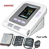FDA Approved Fully Automatic Upper Arm Blood Pressure Monitor 3 Mode 4 Cuffs Electronic Sphygmomanometer