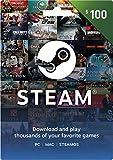 Steam Gift Card - $100
