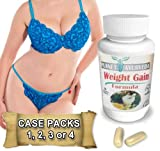 1, 2, 3 or 4 Pack. GAIN CURVES Gain weight pills for women. Planet Ayurveda. Skinny Women gain weight. Gain fast weight for women. Brand New booty, hips & bust! Butt Enlargement (One 1 Single Bottle)