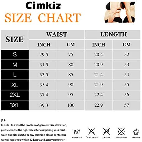 Cimkiz Women Sauna Sweat Vest Neoprene Sauna Suit Waist Trainer Corset for Women Body Shaper Sweat Tank Top Vest 7
