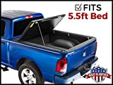 Gator Evo Hard Bi-Fold (fits) 2007-2019 Toyota Tundra 5.5 FT Bed w/Track System ONLY Bi Folding Tonneau Truck Bed Cover (GC45008) Made in The USA