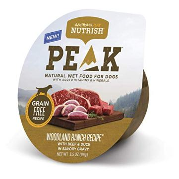 Rachael-Ray-Nutrish-Peak-Natural-Wet-Dog-Food-Grain-Free-Woodland-Ranch-Recipe-with-Beef-Duck-35-oz-Pack-of-8