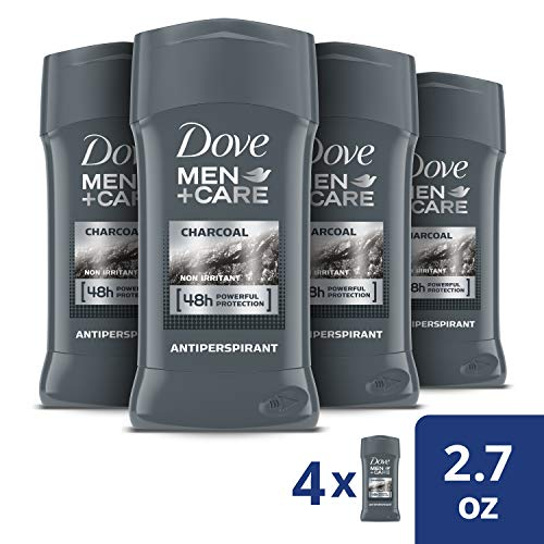 Dove Men+Care Antiperspirant Deodorant Stick Tough on Sweat, Not on Skin Charcoal 48 Hour Sweat and Odor Protection 2.7 oz 4 Count 2