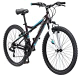 Mongoose Women's Silva Mountain Bicycle 26' Wheel, 16'/Small Frame Size