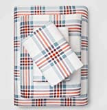 Threshold Fall Flannel Sheet Set - King