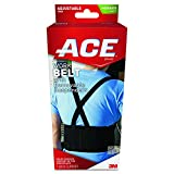 ACE Work Belt, America's Most Trusted Brand of Braces and Supports, Money Back Satisfaction Guarantee