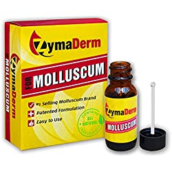 ZymaDerm for Molluscum, Natural, Fast, Gentle, Painless – FDA Registered, Made in USA, 1.6 oz.