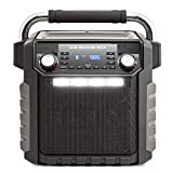 Ion Audio Job Rocker Max Bluetooth Speaker, Black (Renewed)