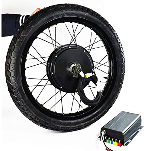 5000W Electric Bicycle Conversion Kit, Electric Bike Conversion Kit, Electric Bike Kit, 100km/h Speed 5000W Hub Motor, 72V 5000W Brushless Gearless Motor ,72V 100A Sine Wave Programmable Controller.