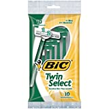 BIC Twin Select Men's Disposable Razor, 10 Count (Pack of 3)