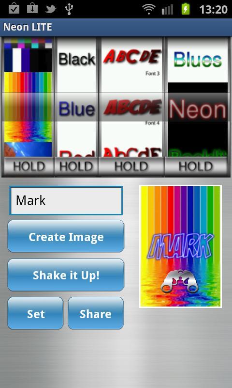 Com Neon Custom Wallpaper Maker App For Android