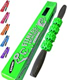 Fitness Answered Training The Muscle Stick Advanced Massage Roller | Muscle Roller Stick Massager - The Stick for Advanced Relief - Green