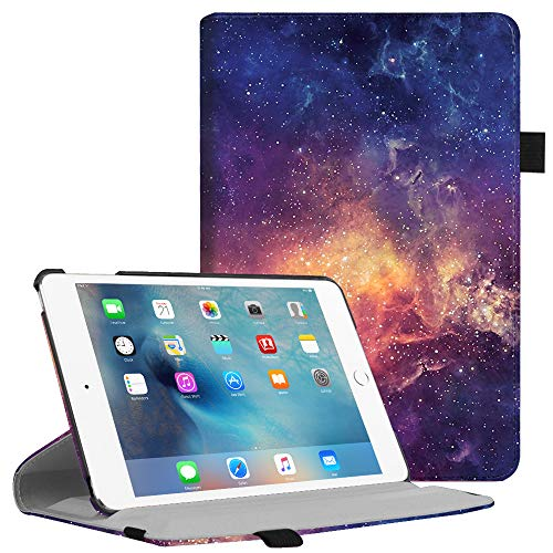 Fintie iPad Mini 4 Case - Multiple Angles Stand Case with Smart Cover Auto Sleep/Wake Feature for Apple iPad Mini 4 (2015 Release), Galaxy