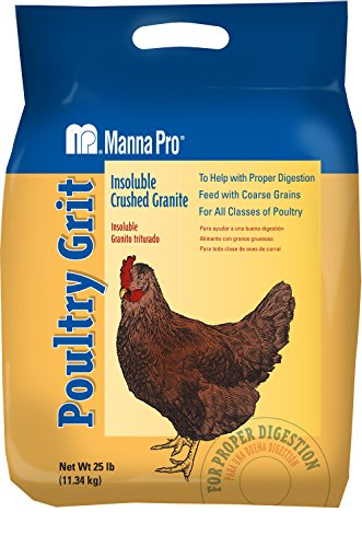 Manna Pro Poultry Grit | Insoluble Crushed Granite | 25 Pounds 1