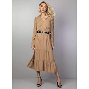 Vestido Midi Cinto