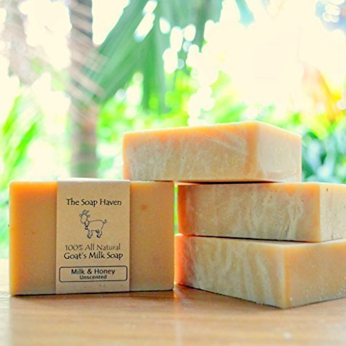 Handmade Goat Milk & Honey Soap