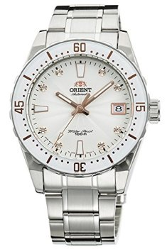 ORIENT Automatic Sports 100M Superior Ladies Watch White Dial Steel FAC0A002W
