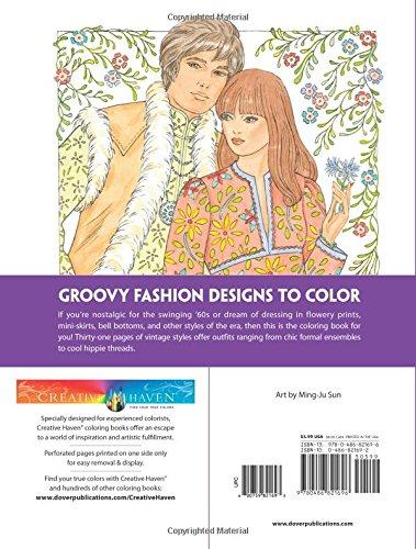 Creative Haven Fabulous Fashions Of The 1960s Coloring Book Creative Haven Coloring Books Lance Publishing Studio