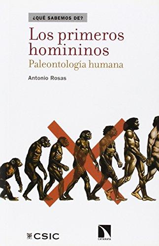 Los primeros homininos : paleontología humana