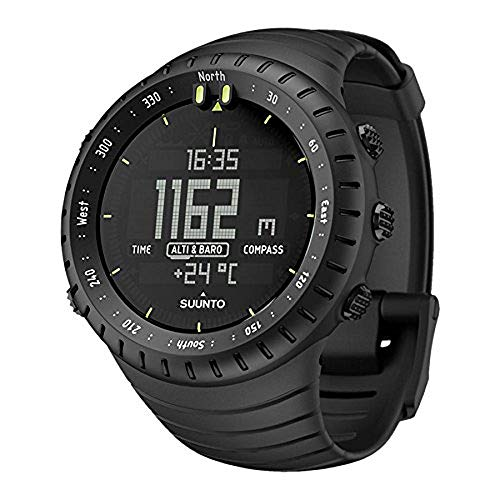 SUUNTO Core All Black Military Men's Outdoor Sports Watch - SS014279010 1 Fashion Online Shop Gifts for her Gifts for him womens full figure