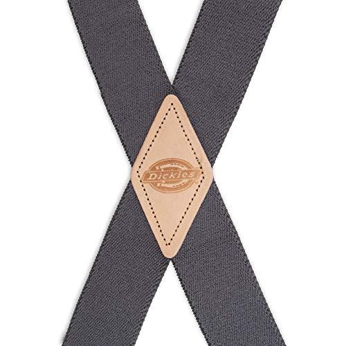 Dickies Men's 1-1/4 Solid Straight Clip Suspender