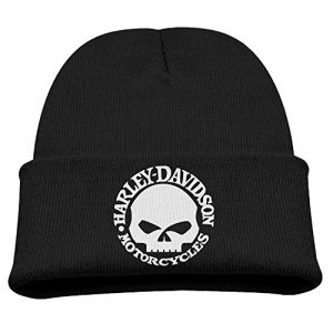 Knit Caps Beanie Hats Harley Davidson Skull Fashion Kids