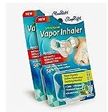 SleepRight Intra-Nasal Vapor Inhaler Nasal Congestion Reducer SleepRight Nasal Breathe Aid (2-Pack)