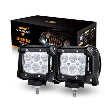"Auxbeam LED Light Bar 4"" 18W LED Pods"