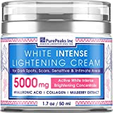 Skin Lightening Cream for Face, Sensitive & Intimate Areas - Natural Skin Care with Hyaluronic Acid & Collagen - Made in USA - Whitening & Nourishing Cream for Women - Skin Bleaching Cream 1.7OZ