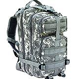 CVLIFE Outdoor Tactical Backpack Military Rucksacks for Camping Hiking Waterproof 30L (ACU)