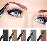 Ownsig Pro Waterproof Automatic Womens Eyebrow Pencil Dark Coffee -3#