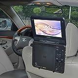TFY Car Headrest Mount Holder for Standard (Laptop Style) Portable DVD Player