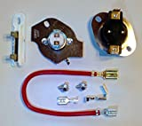 Artisan1 279816 3390291 3977393 3392519 Dryer Thermal Cut-Out Kit - Thermostat and Fuses for Whirlpool Kenmore Sears Roper Admiral and Maytag Electric Dryers