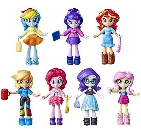 Amazon Com My Little Pony Mlp Eg Fashion Squad 7 Pk Toys Games