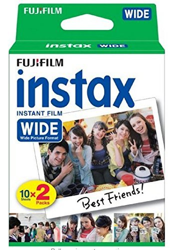 Fuji Wide Instant Color Film Instax for 200/210 Cameras – 2 Twin Packs – 40 P…