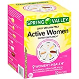 Spring ValleyTM Active Women Daily Vitamin Pack Dietary Supplement 30 ct Box