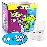 Kandoo Flushable Wipes 10X Refill + Tub - Sensitive