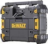 DEWALT TSTAK Jobsite Radio & Battery Charger, Bluetooth (DWST17510)