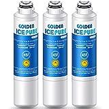 GOLDEN ICEPURE NSF 42 Certified DA29-00020B Refrigerator Water Filter, Compatible with Samsung DA29-00020B, DA29-00020A, DA97-08006A, HAF-CIN/EXP, 46-9101 (Pack of 3)