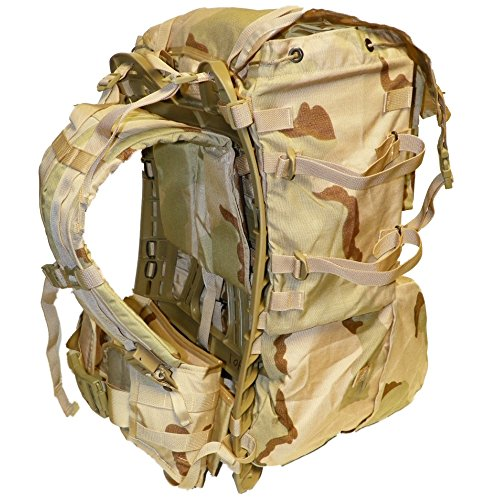 MOLLE II Standard Pack, Desert Camo, Genuine U.S. Military Issue
