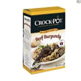 Crock-Pot Delicious Dinners, All Natural Beef Burgundy, Pack of 3