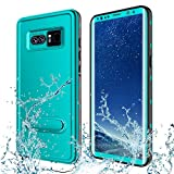 Transy Samsung Galaxy Note 8 Waterproof case,IP68 Certified Full-Body Protective Underwater Cover with Built-in Screen Protector Design for Galaxy Note 8 (blue2)