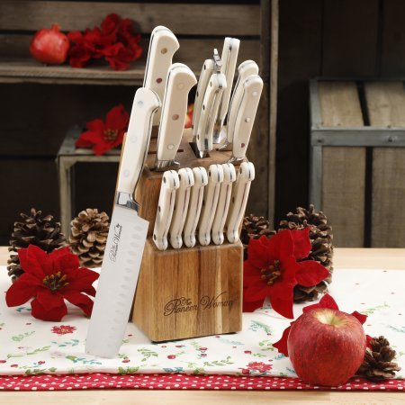 14-Piece ,LINEN,The Pioneer Woman Cowboy Rustic Cutlery Set,