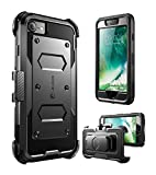 iPhone 7 Case, iPhone 8 Case [Armorbox] i-Blason Built in [Screen Protector] [Full Body] [Heavy Duty Protection ] Shock Reduction/Bumper Case for Apple iPhone 7/iPhone 8 (Black)