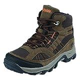 Northside Unisex Rampart MID Waterproof Hiking Boot, Brown, 4 Medium US Big Kid