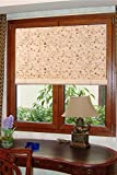 Natural Bamboo Roll Up Window Blind Sun Shade WB-BCT001 (W42' X H72')