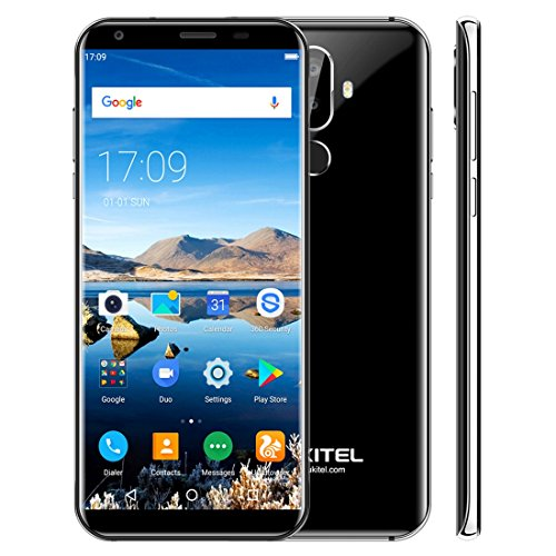 OUKITEL K5 2GB+16GB 5.7 inch Android 7.0 MTK6737T Quad Core up to 1.5GHz GSM & WCDMA & FDD-LTE (Black)