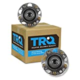 TRQ Rear Wheel Bearing Hub Assembly Pair Set Of 2 For Acura TSX Honda Accord