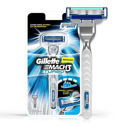 Gillette Mach 3 Turbo Manual Shaving Razor 21
